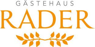Logo - Gästehaus Rader
