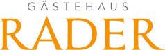 Logo - Gästehaus Rader - Mobil